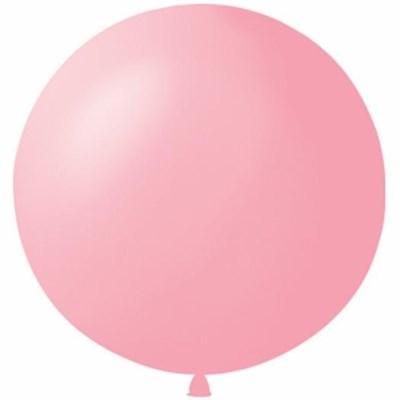 Большой розовый шар, 80 см. - фото 4671