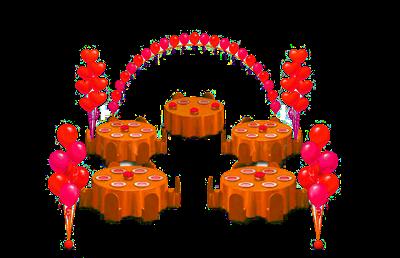 Оформление шарами. Решение № 1 - фото 4772
