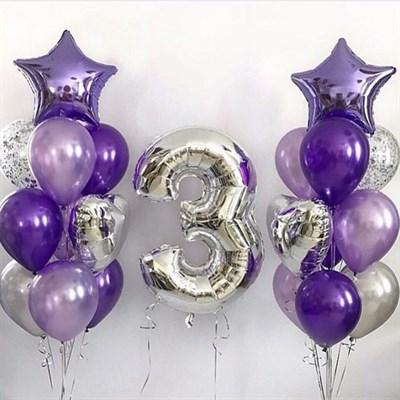 Композиция из шаров №131 - фото 5711