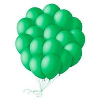 Шары зеленые 30 см. с гелием