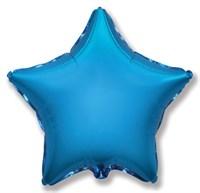 """Фольгированный шар """"Синяя звезда"""""""