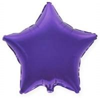 """Фольгированный шар """"Фиолетовая звезда"""""""