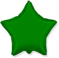"""Фольгированный шар """"Зеленая звезда"""""""