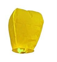 Небесный фонарик, желтый