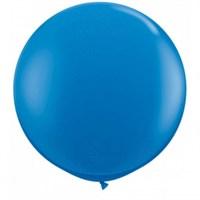 Большой синий шар, 80 см.