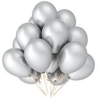 Серебряные шары металлик