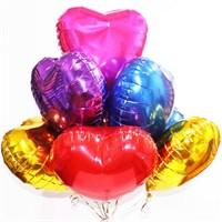 """Фольгированные шары """"Сердце"""" ассорти (45 см.)"""