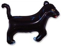 Пантера, фольгированный шар с гелием 85см.