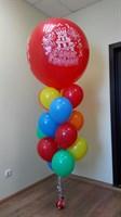 Композиция из шаров №52