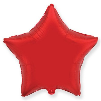 """Фольгированный шар """"Красная звезда"""" - фото 4502"""