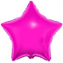 """Фольгированный шар """"Розовая звезда"""" - фото 4507"""