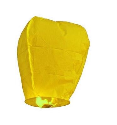 Небесный фонарик, желтый - фото 4640
