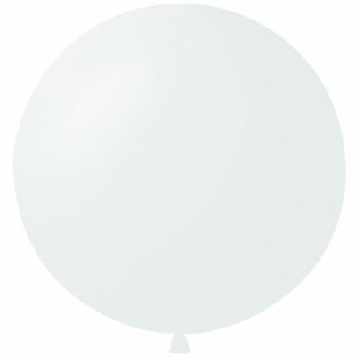 Большой белый шар, 80 см. - фото 4654