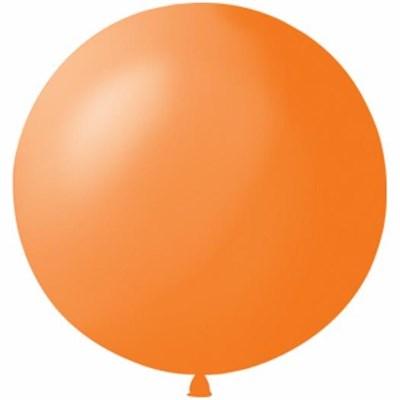 Большой оранжевый шар, 80 см. - фото 4670