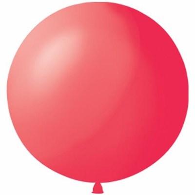 Большой красный шар, 80 см. - фото 4684