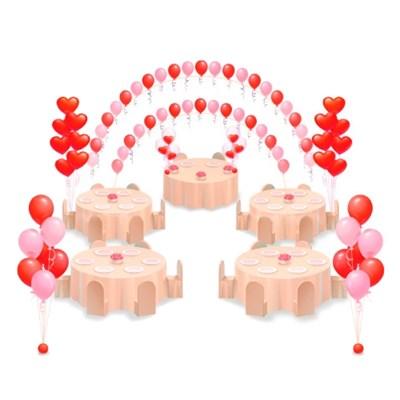 Оформление шарами. Решение № 2 - фото 4763