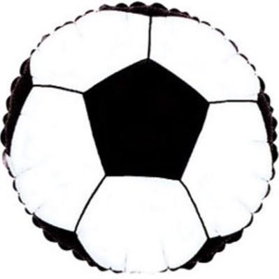 """Фольгированный шар """"Футбольный мяч"""" - фото 4979"""