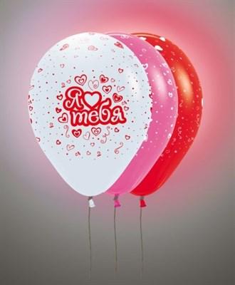 """Светящиеся шары """"Я тебя люблю"""" 30 см. с гелием - фото 4980"""
