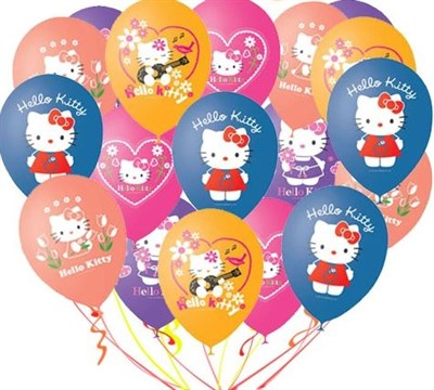 "Шары ""Hello Kitty"" - фото 5007"