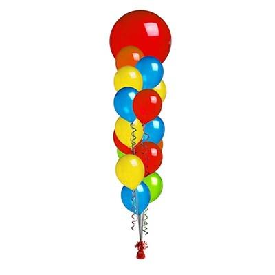 Фонтан с большим шаром - фото 5124