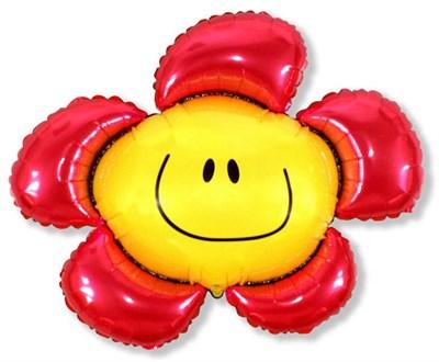 """Большой фольгированный шар """"Цветок"""" - фото 5152"""