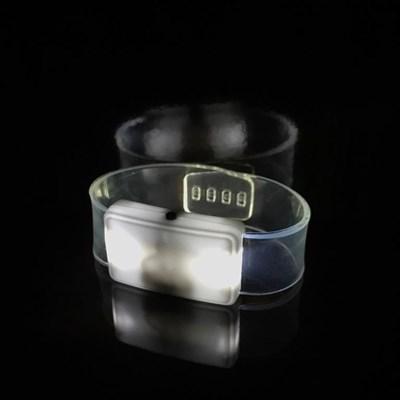 Светящийся браслет белый - фото 5213