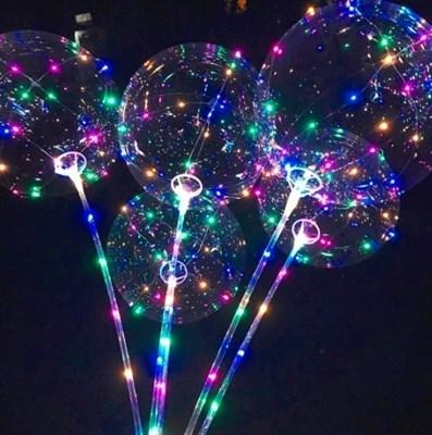 Светящийся шар БоБо с длинной ручкой - фото 5349