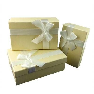 """Коробка подарочная """"Белый перламутр""""17,5*10,5*4 см. - фото 5517"""