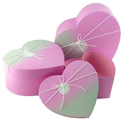"""Коробка подарочная """"Сердце"""" 27*24,5*13 см. - фото 5519"""