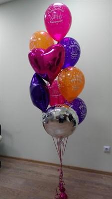 Композиция из шаров №45 - фото 5605