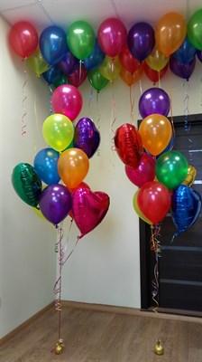 Композиция из шаров №51 - фото 5612