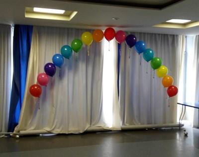 Композиция из шаров №67 - фото 5630