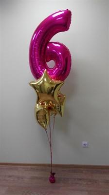 Композиция из шаров №68 - фото 5631