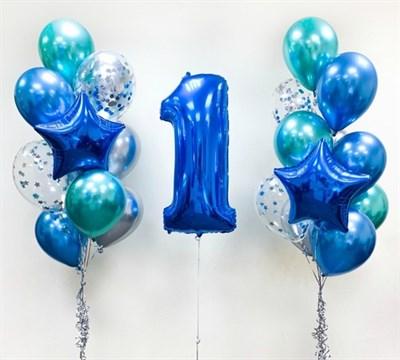 Композиция из шаров №71 - фото 5635