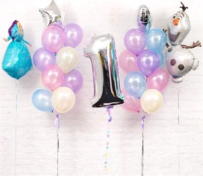 Композиция из шаров №119 - фото 5697