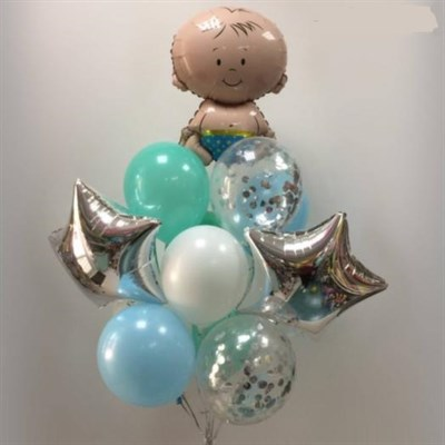 Композиция из шаров №123 - фото 5702