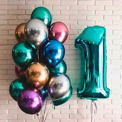 Композиция из шаров №134 - фото 5714