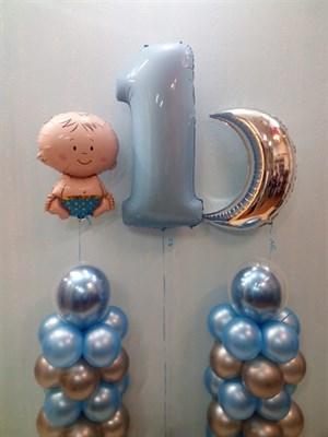 Композиция из шаров №186 - фото 5791