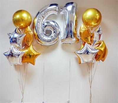 Композиция из шаров №196 - фото 5801