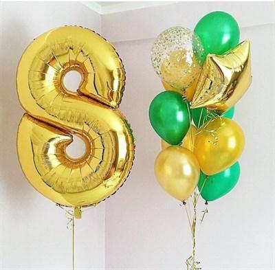 Композиция из шаров №201 - фото 5818