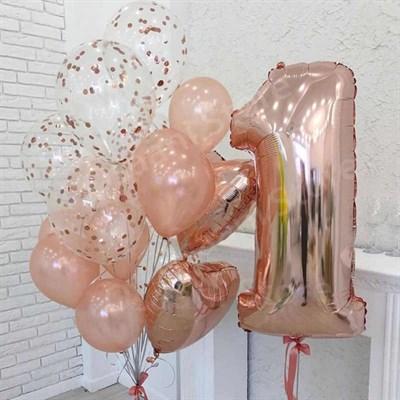 Композиция из шаров №370 - фото 5970