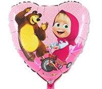 """Фольгированный шар """"Маша и Медведь """""""