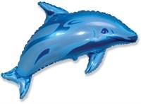 """Большой фольгированный шар """"Дельфин"""""""