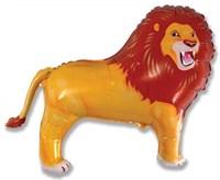 Лев,  фольгированный шар с гелием 83 см