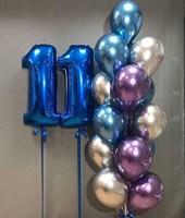 Композиция из шаров №129