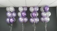 Композиция №310 с хромированными шарами