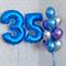 Композиция №339 с фольгированными цифрами - фото 5938